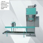 semi-automatic belt Bagger DCS-P-50 for feeds, bio-fertilizer and granule powder mixing with speed 180-300BPH